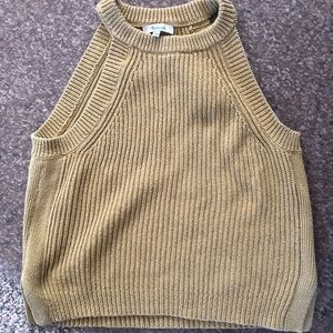 Tops - Madewell Valley Sweater in Mustard